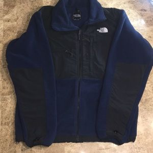 North Face sweater (double sided logo)